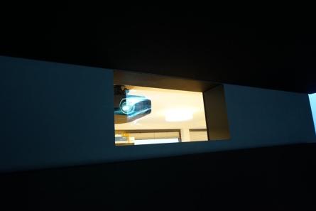 Projektionsglas